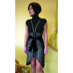 Falda Terciopelo Negro